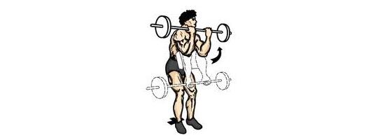 Bicepsový-zdvih-na-Scottově-lavici-cvičení-doma-posilování-kulturistika