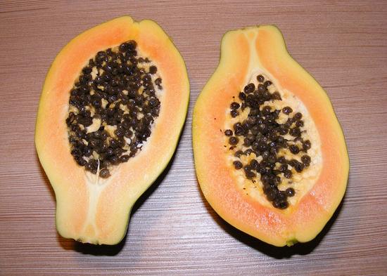 Zdravý jídelníček: Papája