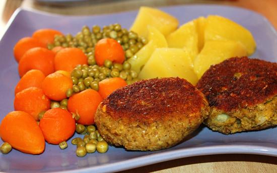 Fitness dietní brokolicové karbanátky s tvarohem