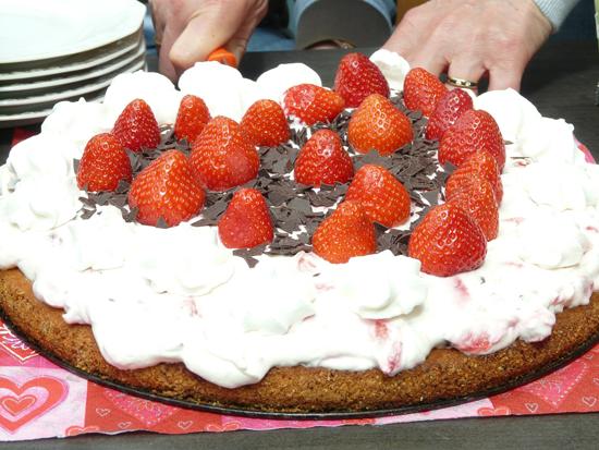 Třepací dort (fofrdort) bez pečení