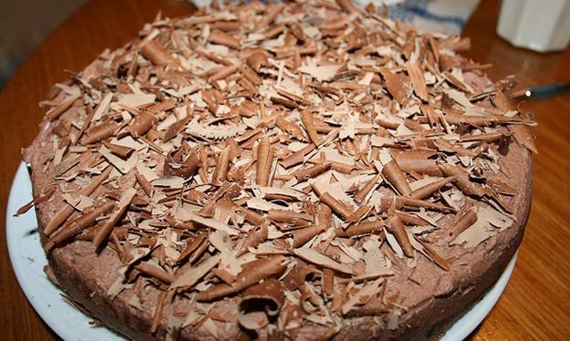 Pivní čokoládový dort