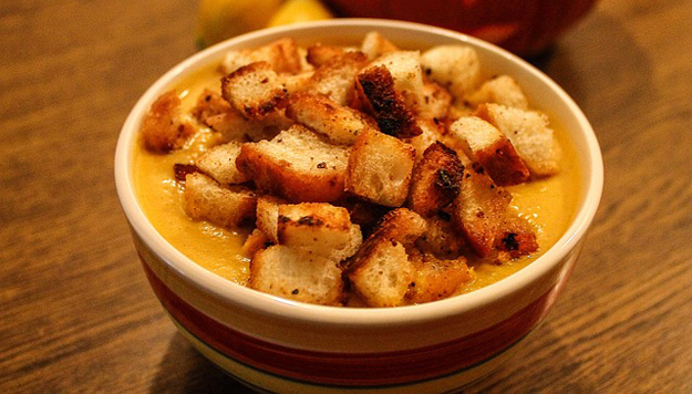 Krémová polévka z pečené mrkve