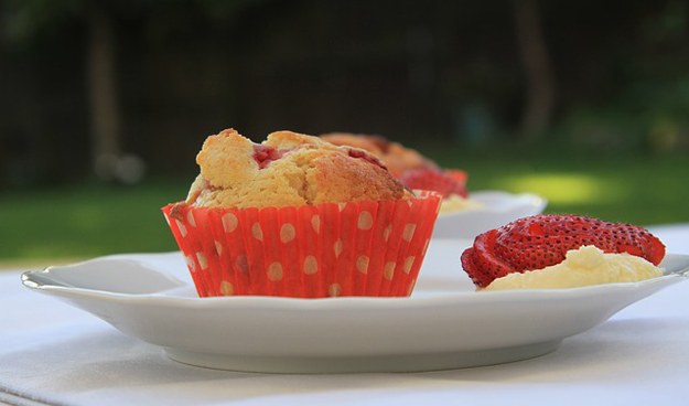 Dietní fitness muffiny bez cukru a mouky