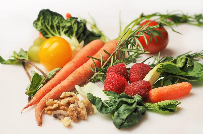 Vitamíny typu A, B, C a další