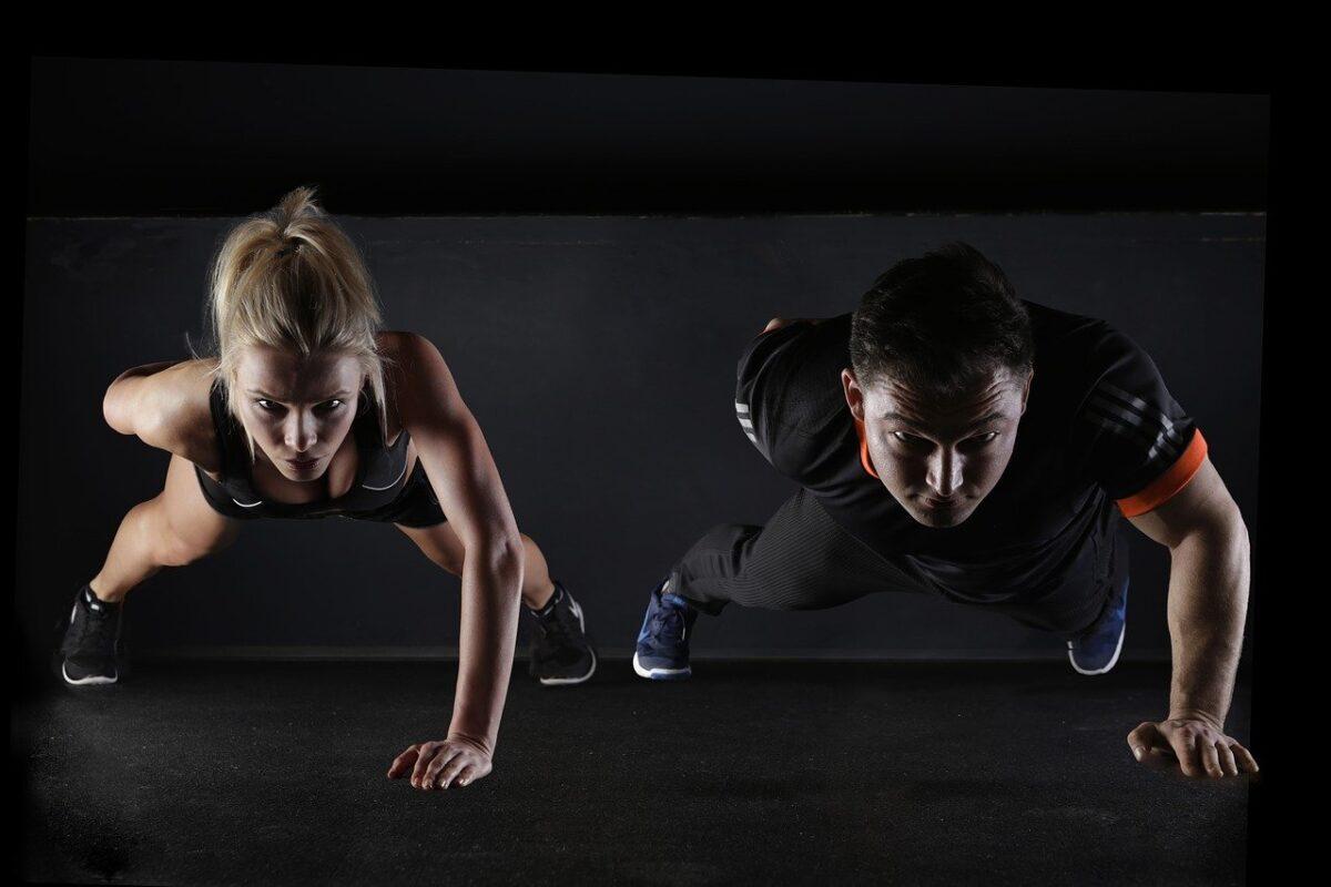 Cvičení doma aneb kliky pro komplexní posílení těla