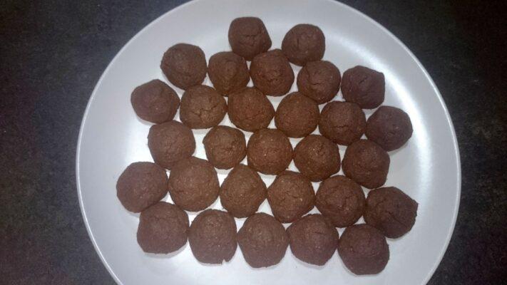 Čokoládové hrudky s kokosem