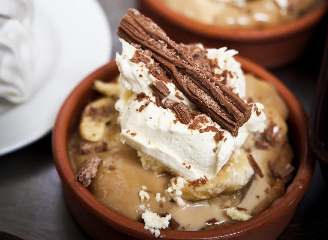 Domácí banánová zmrzlina s čokoládou